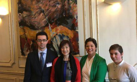 Συνάντηση αντιπροσωπείας του Κινήματος Οικολόγων – Συνεργασία Πολιτών με την Πρόεδρο της Επιτροπής Ευρωπαϊκών Υποθέσεων της Γαλλικής Εθνοσυνέλευσης.