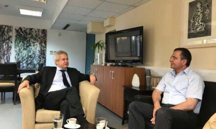 Συνάντηση αντιπροσωπείας του Κινήματος Οικολόγων – Συνεργασία Πολιτών με τον διαπραγματευτή κ. Ανδρέα Μαυρογιάννη