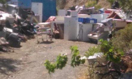 Παράνομος σκυβαλότοπος δίπλα στο Νοσοκομείο Κυπερούντας