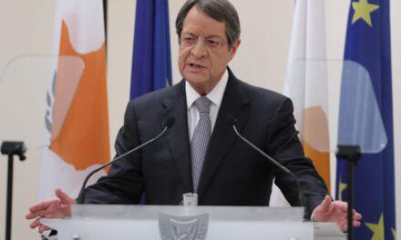 Δικαιώματα αντίδρασης στα κατεχόμενα έδωσε με τις δηλώσεις του ο Πρόεδρος Αναστασιάδης