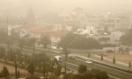 Living in air-polluted Nicosia will cost residents on average a year of their lives