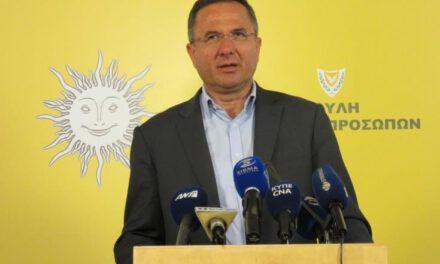 Ο Πρόεδρος Αναστασιάδης υποσκάπτει το θεσμό του Γενικού Ελεγκτή, λέει ο Γιώργος Περδίκης
