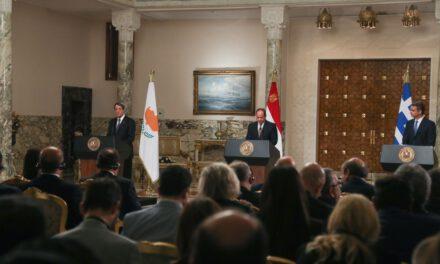 Το Κίνημα Οικολόγων – Συνεργασία Πολιτών χαιρετίζει το αποτέλεσμα της 7ης Συνόδου Κορυφής των Αιγύπτου – Κύπρου – Ελλάδας