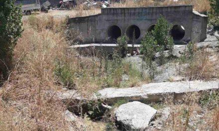 Διαρροή λυμάτων του αντλιοστασίου Αγίου Μάμα. Ταλαιπωρία των κατοίκων Λακατάμιας από την έντονη δυσοσμία και κίνδυνος ρύπανσης.