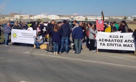 Παρανομίες και ρύπανση στα ασφαλτικά εργοστάσια στο Δάλι – Τσέρι – Γέρι. Μαζί μας και η Επίτροπος Διοικήσεως
