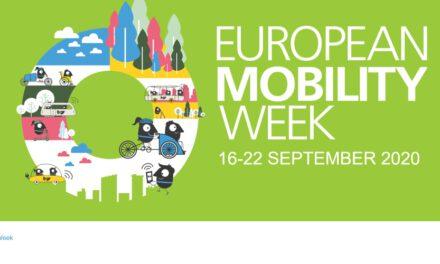 16-22 Σεπτεμβρίου: Ευρωπαϊκή Εβδομάδα Κινητικότητας με θέμα «Πράσινη μετακίνηση χωρίς ρύπους για όλους».