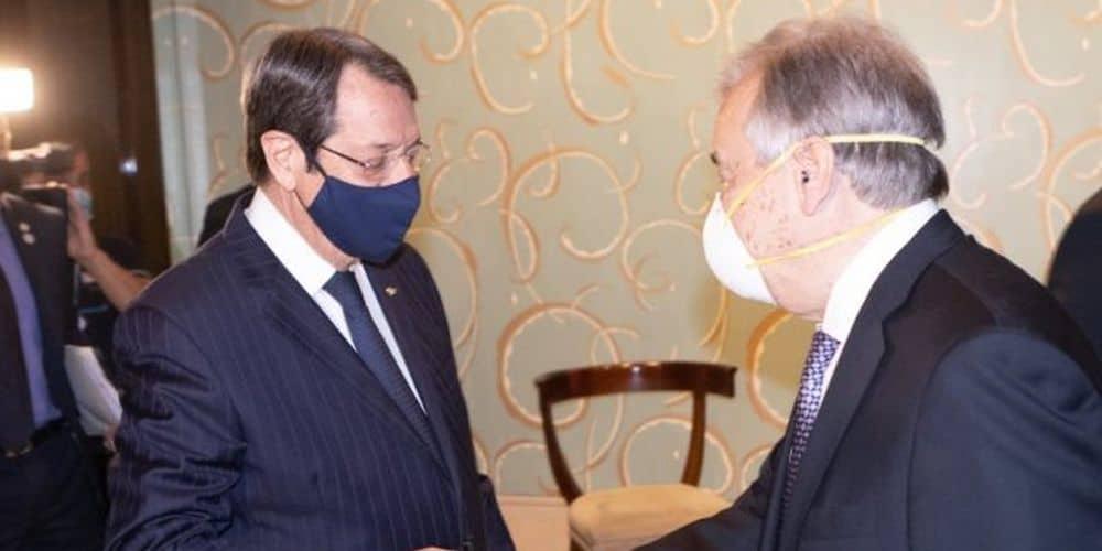 Μας στεναχωρεί η απαθής στάση του Γκουτέρες στη διάσκεψη της Γενεύης έναντι της τουρκικής αδιαλλαξίας