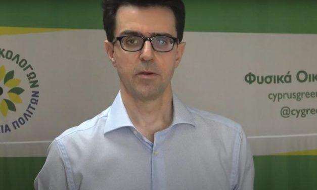 Δηλώσεις τουαντιπροέδρου Α' του Κινήματος Οικολόγων – Συνεργασία Πολιτών κ. Νίκου Παυλίδη πριν τις εκλογές