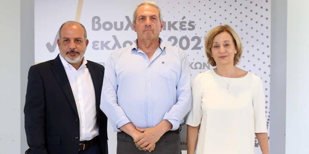 Σηκώνουν μανίκια οι τρεις βουλευτές του Κινήματος Οικολόγων – Συνεργασία Πολιτών