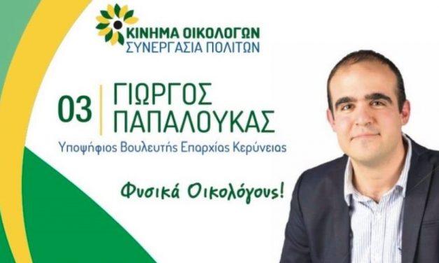 Γιώργος Παπαλουκάς: Εκλογικά Έξοδα Βουλευτικών 2021