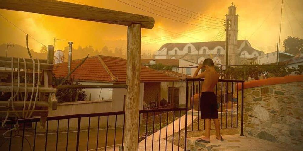 Συγκινητική πρωτοβουλία αλληλεγγύης και συμπαράστασης στον κυπριακό λαό για τις καταστροφικές πυρκαγιές του Ιουλίου